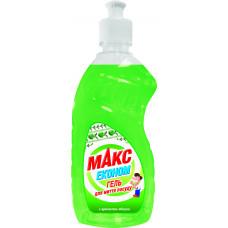 Гель для миття посуду Макс Економ Яблуко 450 мл