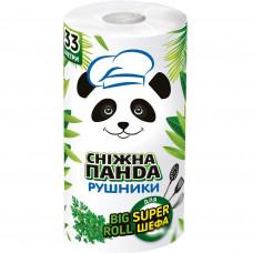 Паперовий рушник Сніжна Панда Big Roll 2 шари 1 шт