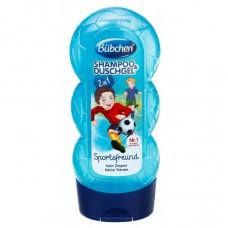 Шампунь та гель для душу Bubchen Kids Shampoo & Duschgel Юний спортсмен 230 мл