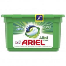 Капсули для прання Ariel Pods Все в одному Гірське джерело 12 шт