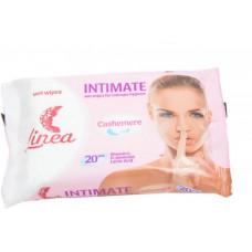 Вологі серветки для інтимної гігієни Linea Intimate 20 шт