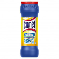 Порошок для чищення Comet Лимон з дезинфікуючими властивостями без хлоринолу 475 г