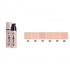 Тональна основа M4503 Malva Cosmetics Face Show Foundation № 05