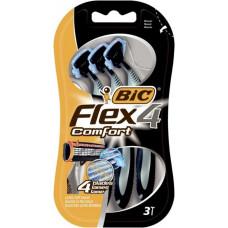 Одноразові станки BIC Flex 4 Comfort 3 шт