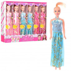 Лялька 9208B  3 кольори, коробка, 38-30-6 см