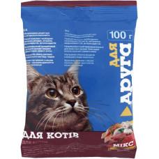 Сухий корм для котів Для Друга зі смаком мікс 100 г 18331