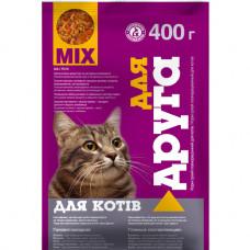 Сухий корм для котів Для Друга зі смаком мікс 400 г 17745