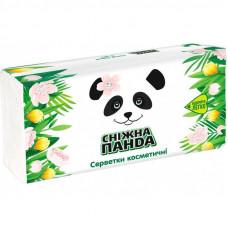 Серветки косметичні Сніжна Панда 2 шари 150 шт