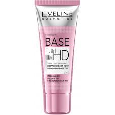 База під макіяж Eveline Cosmetics Base Full HD розгладжує шкіру і вирівнює тон 30 мл