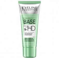 База під макіяж Eveline Cosmetics Base Full HD для маскування почервонінь 30 мл
