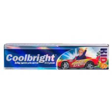 Дитяча зубна паста Coolbright Kids Boys для хлопчиків від 3-12 років 105 мл