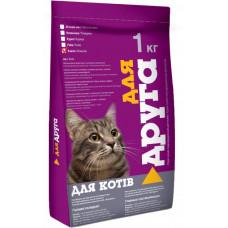 Сухий корм для котів Для Друга зі смаком класик 1000г 5939