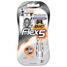 Одноразові станки для гоління BIC Flex 5 Dispo 3 шт