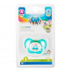 Пустушка латексна Canpol Babies Toys 23/259 Зелена від 0-6 місяців