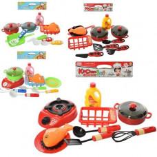 Посуд 697E-3-4-696E-3-4 каструля, кухонне приладдя, 4 види (плита/сковорідка)