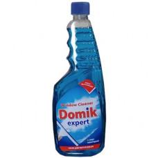 Засіб для миття вікон та скла DOMIK expert запаска Синій 700 мл