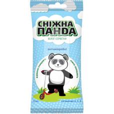 Вологі серветки Сніжна Панда Kids антимікробні 15 шт
