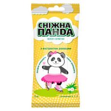 Вологі серветки Сніжна Панда Kids з екстрактом ромашки 15 шт