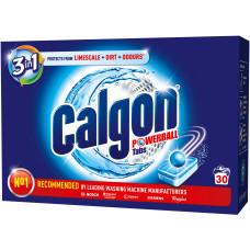 Таблетки для помякшення води і запобігання утворення накипу Calgon 3в1 30 шт