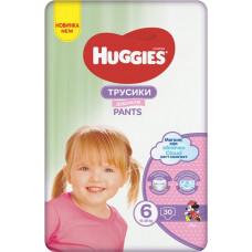 Підгузки-трусики Huggies Pants Girl розмір 6 Jumbo 30 шт