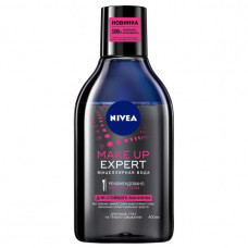 Міцелярна вода Nivea Make up Expert для зняття стійкого макіяжу 400 мл