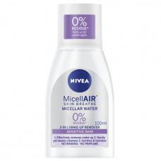Міцелярна вода Nivea MicellAIR Дихання шкіри для чутливої шкіри 100 мл