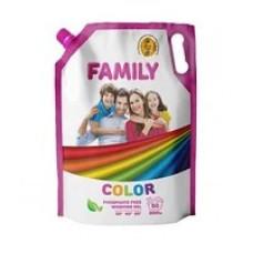 Гель для прання FAMILY Color 2000 мл DOYPACK