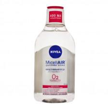 Міцелярна вода Nivea MicellAIR Дихання шкіри для сухої та чутливої шкіри 400 мл