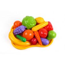 Набір  Овочі- фрукти на підносі 5347 32,5х23х12 cм ТехноК