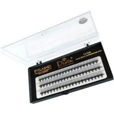 Вії накладні пучкові Divia Eyelashe Di946 11 мм в касеті