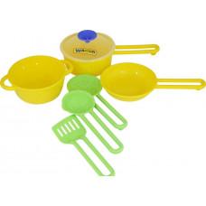 Набір дитячого посуду Кухар  №1, 19,5*13,5*9см ТМ POLESIE