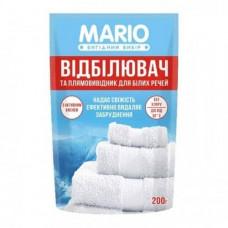 Відбілювач та плямовивідник для білих речей MARIO 200 г
