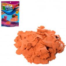Пісок для творчості LS-250G-O 250 г., помаранчевий, кул., 16-22,5-1,5 см.