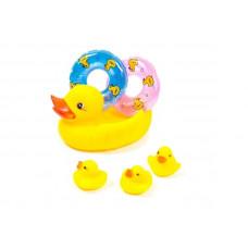 Іграшка для води з гуми P261  Каченя-рятівник