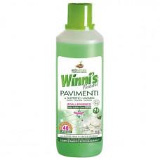 Гіпоалергенність засіб для миття підлоги та інших великих поверхонь Winnis Pavimenti e superfici lavabili 1000 мл