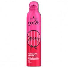 Лак для волосся Got2b by Schwarzkopf 2sexy Обєм 300 мл