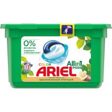 Капсули для прання Ariel Pods 3 в 1 Аромат олії Ши 12 шт