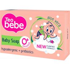 Дитяче крем-мило Teo bebe з екстрактом Алое 75 г