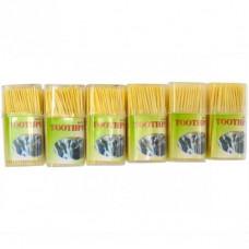 Зубочистки бамбукові Квадрат 110 шт