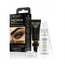 Кремова хна для брів Revers Henna Pro Colors Чорна