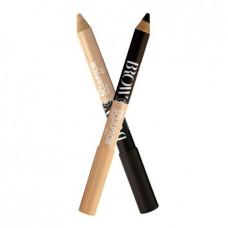 Олівець для брів TF Cosmetics Brow Pro Sculptor двосторонній W-213 №01