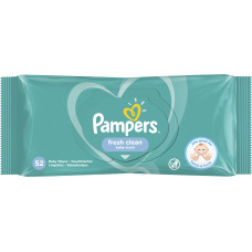 Вологі серветки Pampers Fresh Clean 52 шт
