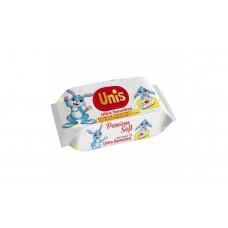 Вологі серветки Unis Baby без запаху 72 шт (клапан)