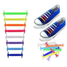 Шнурки для взуття силіконові
