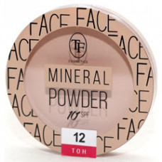 Мінеральна пудра для обличчя TF Cosmetics Mineral Powder СTP19 №12 Beige pink