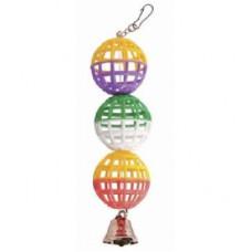 Іграшка Природа для папуг Гірлянда із дзвіночком арт.PR240255