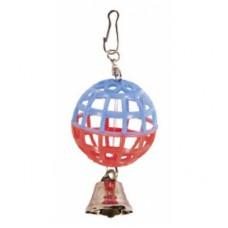 Іграшка Природа для папуг Куля із дзвіночком арт.PR240257
