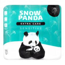 Туалетний папір Сніжна Панда Extra Сare Sensitive 3 шари 4 шт