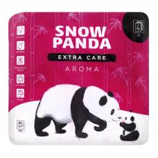 Туалетний папір Сніжна Панда Extra Сare Aroma 4 шари 4 шт