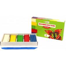 Пластилін Гамма восковий Craft and Joy 331014 5 кольорів